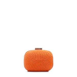 pochette zara arancione